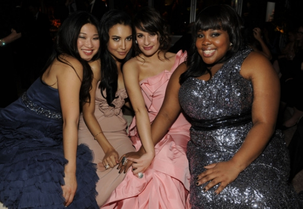 Photo Coverage: GLEE Celebrates Golden Globes Wins
