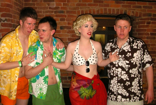 Photo Flash: Psycho Beach Party Rehearsals, UK Production