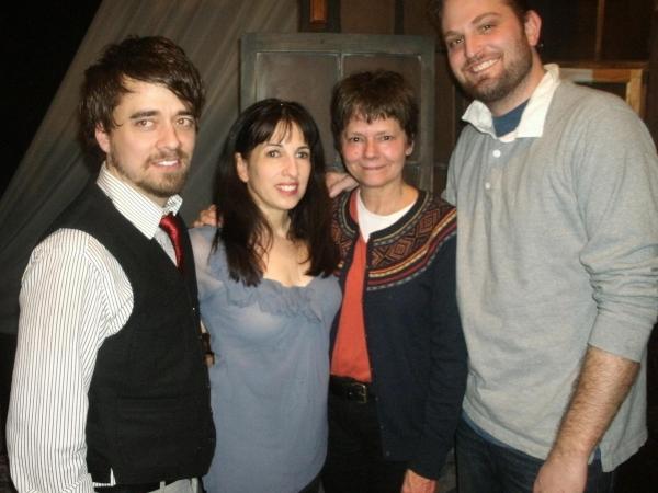 Kevin Viol, Eileen Niccolai, Linda Reiter and Joseph Wiens Photo