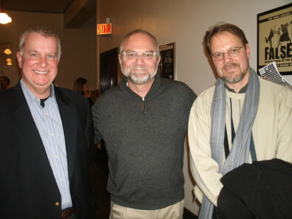 Troy Baresel, Hugh Schulze, and Bruce Holland