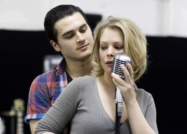 Michael Malarkey and Francesca Jackson