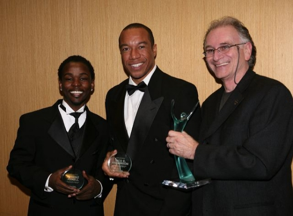 Lorenz Arnell, Rico E. Anderson and Simon Levy Photo
