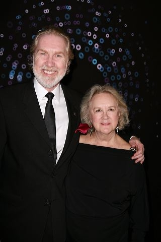 Harry Groener (L) and wife actress Dawn Didawick Photo
