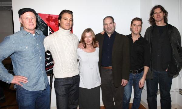 Playwright David Hay, Michael T. Weiss, Donna Bullock, Daniel Oreskes, Scott Drummond Photo