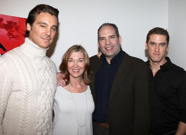 Michael T. Weiss, Donna Bullock, Daniel Oreskes, Scott Drummond attends the Off-Broad Photo