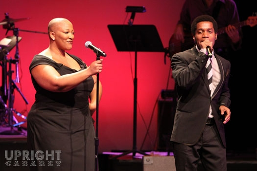 Frenchie Davis and Ty Taylor at Upright Cabaret's American Icon Series at Thousand Oaks Civic Arts Plaza