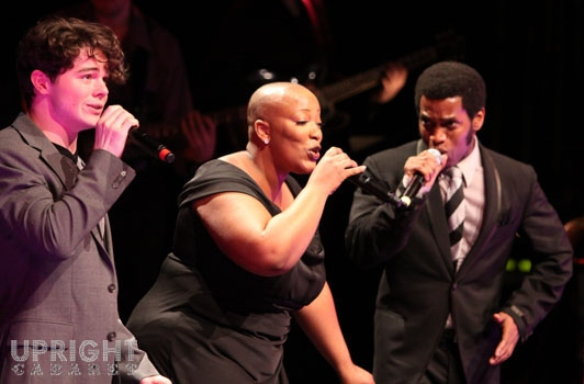 Von Smith, Frenchie Davis and Ty Taylor at Upright Cabaret's American Icon Series at Thousand Oaks Civic Arts Plaza