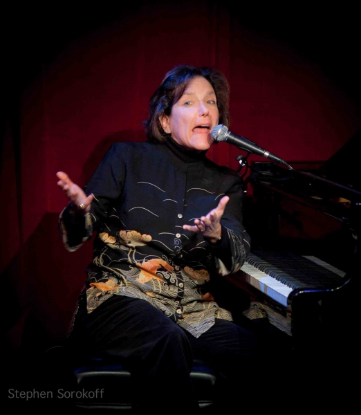 Julie Gold at Christine Lavin in Concert at Birdland