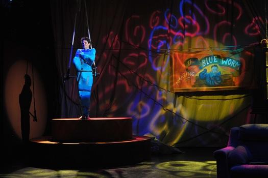 John Allore at Burning Coal Theatre Company Presents Blue