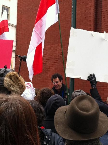 Photo Flash: Public Theater Hosts Belarus Free Theatre Rally