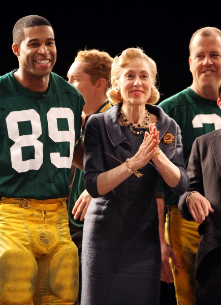 Photo Coverage: LOMBARDI Celebrates 100th Performance on Broadway
