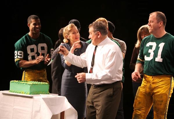 Photo Coverage: LOMBARDI Celebrates 100th Performance on Broadway