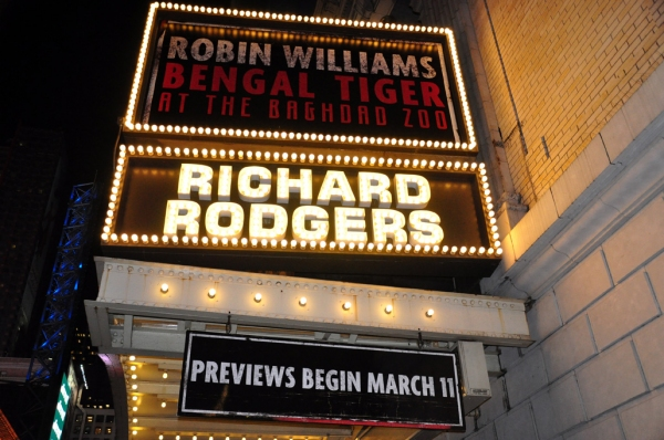 Photo Coverage: UP ON THE MARQUEE: BENGAL TIGER AT THE BAGHDAD ZOO
