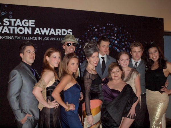 Photo Flash: Ovation Awards- Before and After