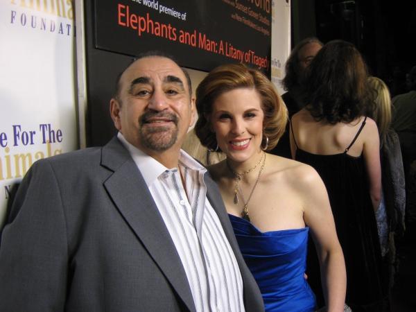 Ken Davitian with Kat Kramer