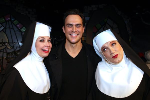 Photo Coverage: Molly Ringwald, Cheyenne Jackson & Daniel Davis Visit THE DIVINE SISTER