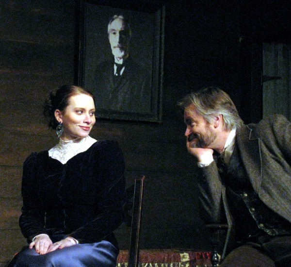 George Hartpence and Cat Miller at UNCLE VANYA At Actors' Net