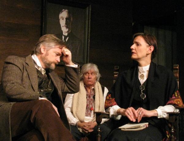 George Hartpence, Susan Blair and David Bohn