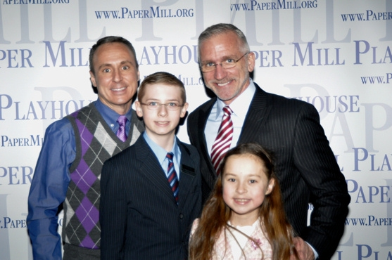 Larry Elarado, Stephen Hoebee-Elardo, Mark S. Hoebee, and Ashley Hoebee-Elardo Photo