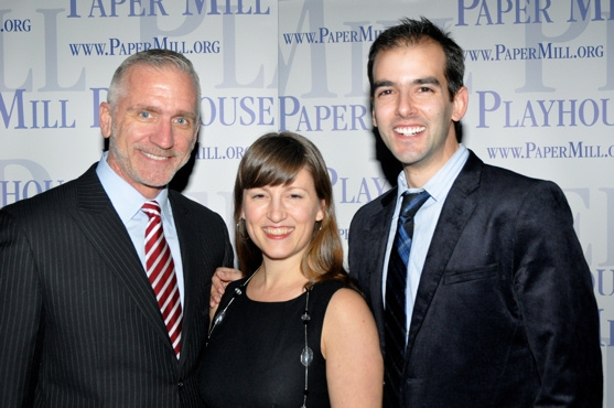 Mark S. Hoebee, Wendy Seyb (Choreographer) and Marc Bruni (Director) Photo