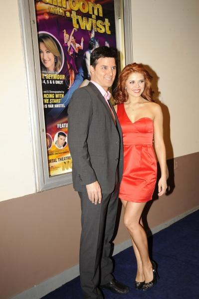 Jonathan Roberts and Anna Trebunskaya on the Red Carpet Photo