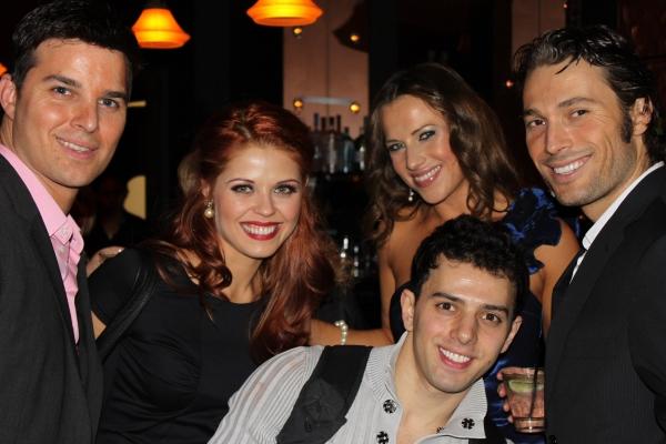 Jonathan Roberts, Anna Trebunskaya, Gev Manoukian, Edyta Sliwinska and Alec Mazo Photo