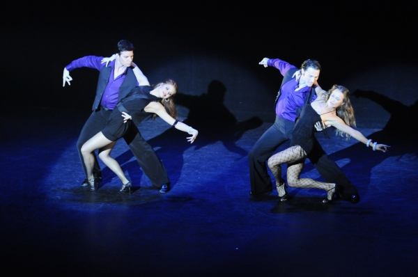 Jonathan Roberts and Anna Trebunskaya and Alec Mazo and Edyta Sliwinska in FEVER Photo