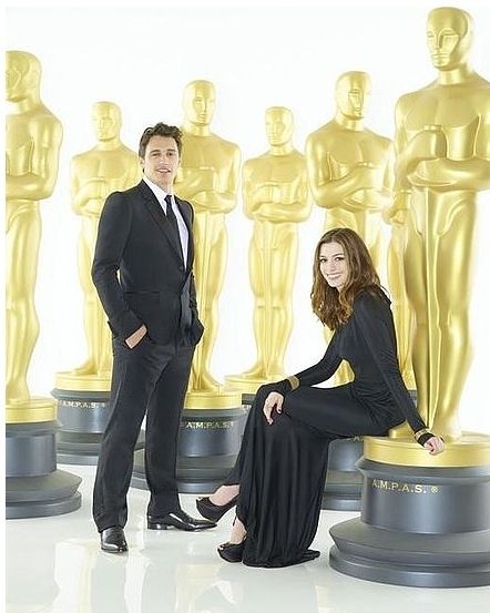 Photo Coverage: Hathaway & Franco - First Oscar Promo Shots!
