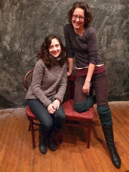 Julie Kline and Kristen Palmer