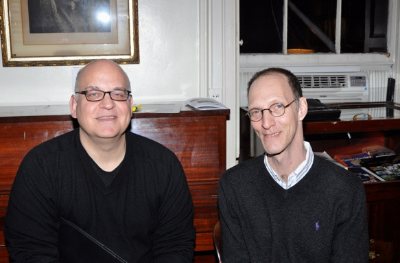 Joe Dziemianowicz and Andy Propst