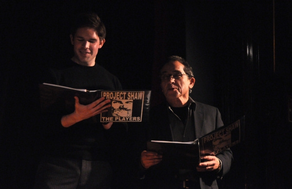 Frank DiLella and Patrick Pacheco at Project Shaw Presents ANDROCLES AND THE LION