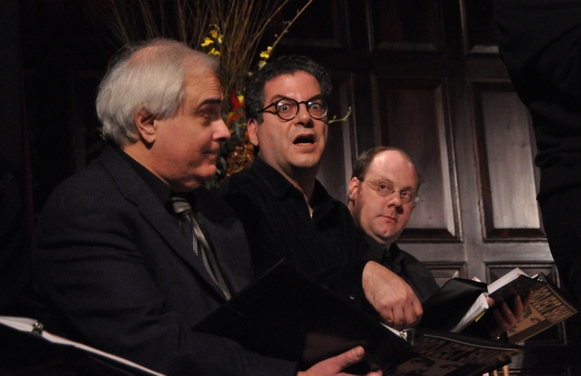 Peter Filichia, Michael Musto and David Cote