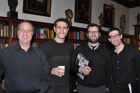 Brian Scott Lipton, Adam Feldman, Jesse Oxfeld and Michael Schulman