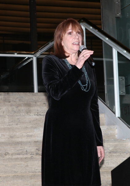 Jacqueline Z. Davis attends the reception and unveiling for the Al Hirschfeld permane Photo