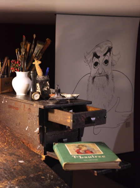 Photo Coverage: NYPL Unveils Al Hirschfeld Installation