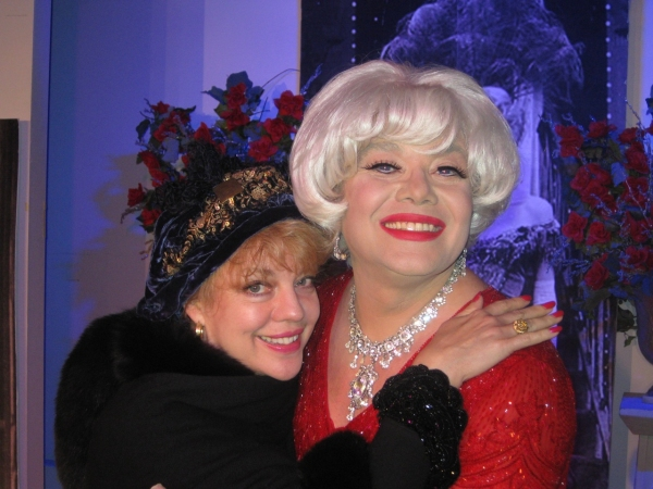 Photos: KT Sullivan Visits Richard Skipper As Carol Channing In Concert