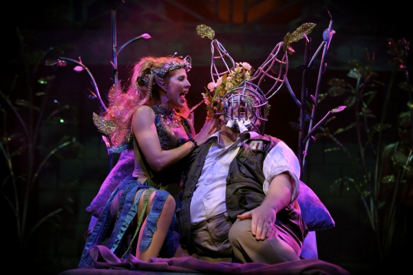Sarah Ireland and Michael Daly at A Midsummer Night's Dream At Orlando Shakespeare
