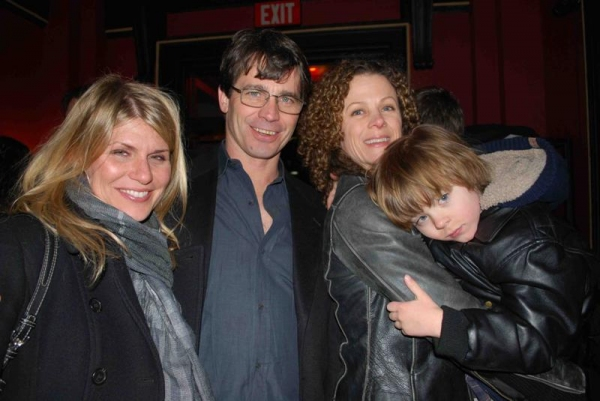 Jodie Moore (Musical Director), Scott Wise (Choreographer), Elizabeth Parkinson (Associate Choreographer), and their son