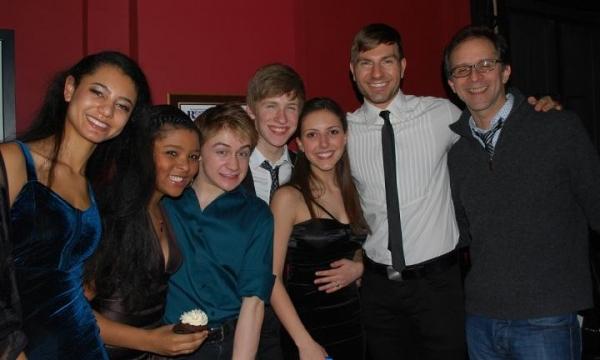 Taryn Riemer, Brynn-Williams (Jill Rogers), Riley Costello (Paperboy), Charlie Frankl Photo