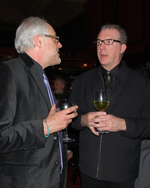 Chris Hannah (VSC Artistic Director), Robert Wierzel (Lighting Design)