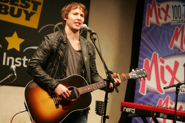 Jan. 28, 2011 - Tampa, Florida, U.S. - Atlantic Records Artist JAMES BLUNT performing live at the Best Buy Musical Instruments Theatre at Clear Channel Radio for contest winners of Mix 100.7 in Tampa, FL. (Credit Image: � Radko Keleman/ZUMAPRESS.com)