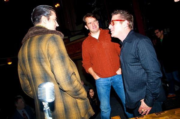 Eddie Clendening, James Moye & Lee Rocker