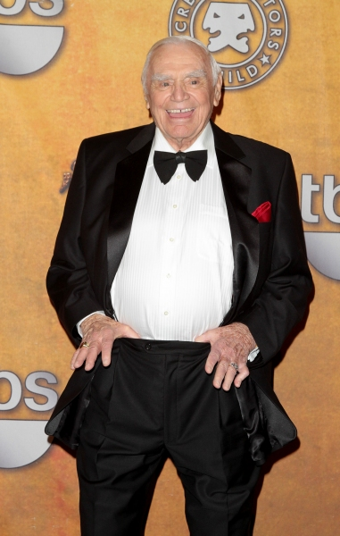 Ernest Borgnine pictured at the 17th Annual Screen Actors Guild Awards Press Room held at The Shrine Auditorium in Los Angeles, California on January 30, 2011.  ïÂ�¿Â½ RD / Orchon / Retna Digital.