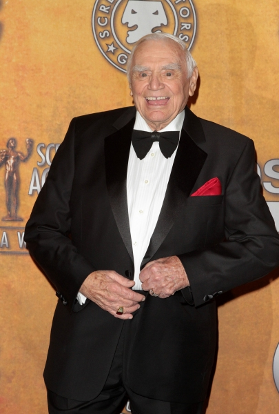 Ernest Borgnine pictured at the 17th Annual Screen Actors Guild Awards Press Room held at The Shrine Auditorium in Los Angeles, California on January 30, 2011.  �¿� RD / Orchon / Retna Digital.