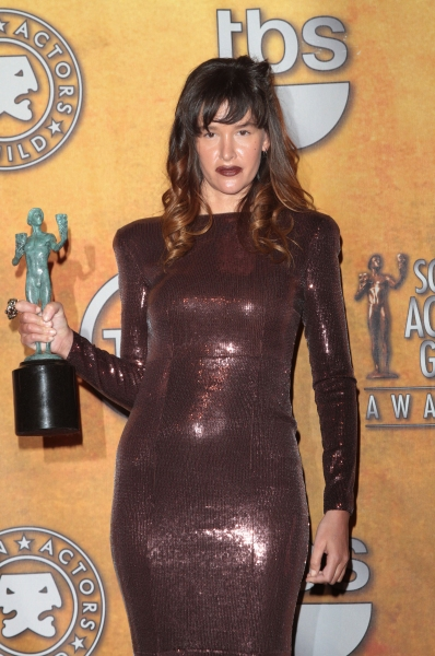 Paz de la Huerta pictured at the 17th Annual Screen Actors Guild Awards Press Room held at The Shrine Auditorium in Los Angeles, California on January 30, 2011.  �¿� RD / Orchon / Retna Digital.