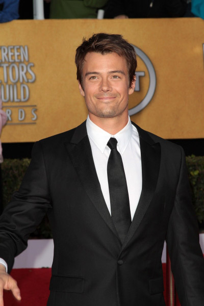 Josh Duhamel pictured at the 17th Annual Screen Actors Guild Awards held at The Shrin Photo