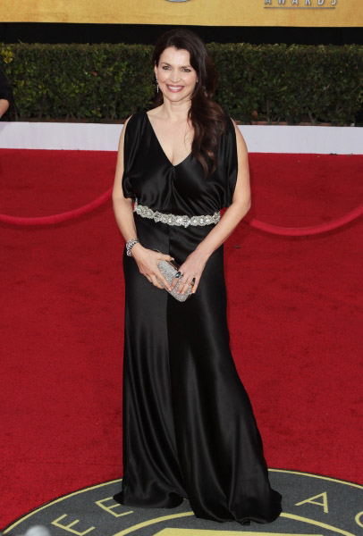 Julia Ormond pictured at the 17th Annual Screen Actors Guild Awards held at The Shrine Auditorium in Los Angeles, California on January 30, 2011.  ï�¿½ RD / Orchon / Retna Digital.