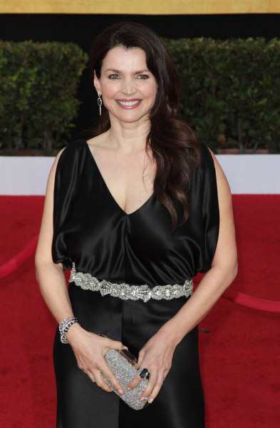 Julia Ormond pictured at the 17th Annual Screen Actors Guild Awards held at The Shrine Auditorium in Los Angeles, California on January 30, 2011.  �¿� RD / Orchon / Retna Digital.
