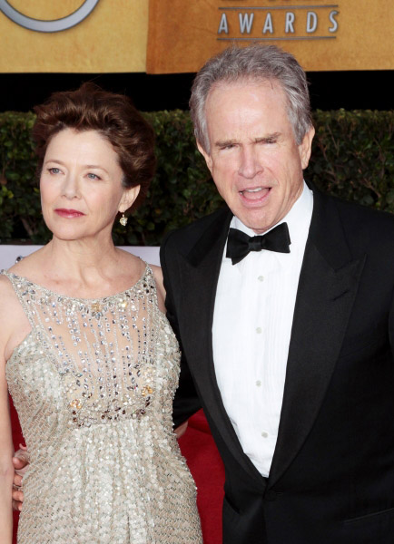 Warren Beatty and Annette Bening pictured at the 17th Annual Screen Actors Guild Awards held at The Shrine Auditorium in Los Angeles, California on January 30, 2011.  �¿� RD / Orchon / Retna Digital.
