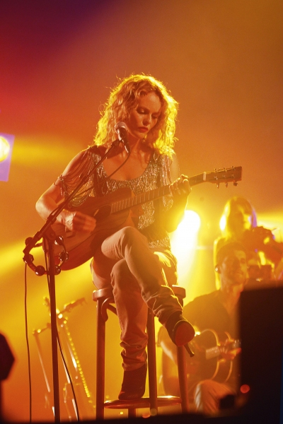 Photo Coverage: Vanessa Paradis Live in Paris